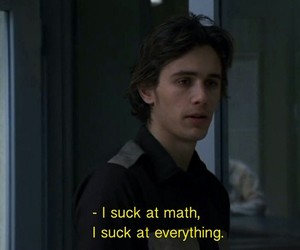 quotes, grunge, and math image