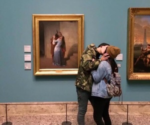 art, Relationship, and love image