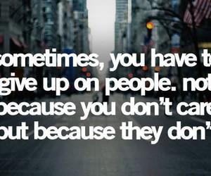 quotes, give up, and people image