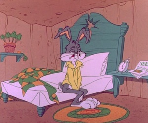 monday, bugs bunny, and morning image