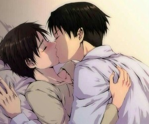 Boys Love, shingeki no kyojin, and love image