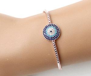 etsy, style, and gold filled bracelet image