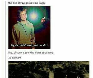 harry potter, james potter, and funny image