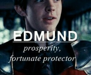 edmund pevensie, edmund, and narnia chronicles image