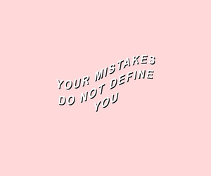 mistakes, pink, and wallpaper image