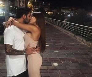 beautiful, hug, and couple image