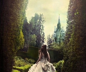 princess, castle, and dress image