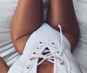 body, summer, and white image
