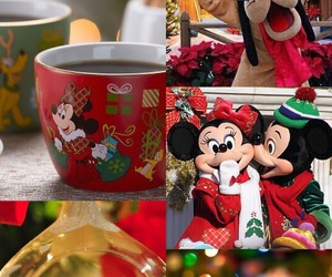christmas, Collage, and disney image
