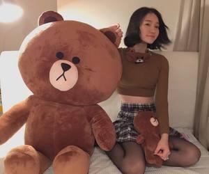 asian, bear, and ulzzang image