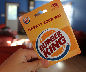 photography, burger king, and food image