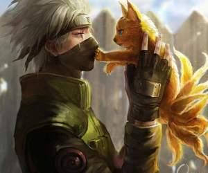 naruto, kakashi, and anime image