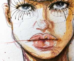 art, fashion, and fashion illustrations image
