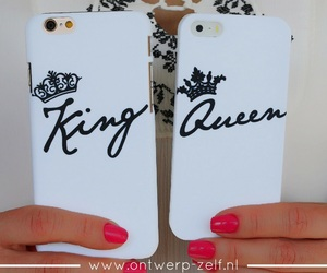 case, iphone, and king image