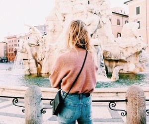 girl, travel, and indie image