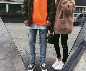 couple, relationsship, and fashion image