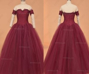 ball gown, evening gown, and pageant image