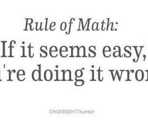 math, funny, and rules image