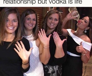 funny, life, and vodka image