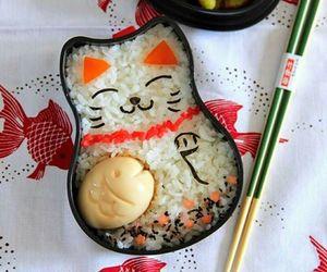 food, japanese, and bento image