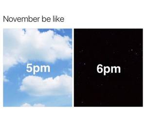funny and november image