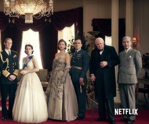 crown, the crown, and nerflix image