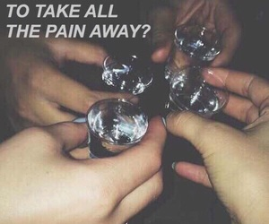 grunge, pain, and drink image