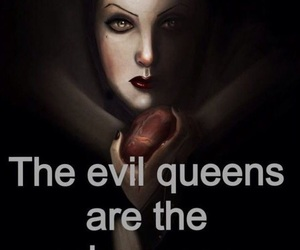 princess, evil, and disney image