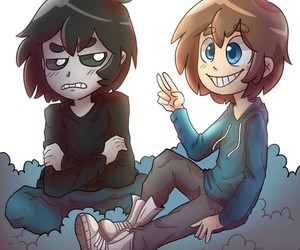 (〜^∇^)〜 and fnafhs image