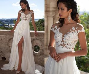 bridal gown, gowns, and wedding gown image