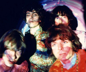 Pink Floyd, roger waters, and syd barrett image