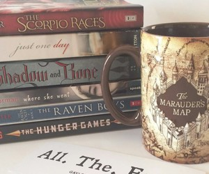aesthetics, books, and harry potter image