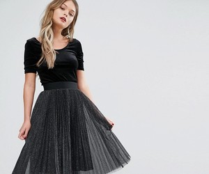 Full Skirt, pleats, and sexy teen image