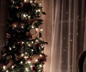 christmas, winter, and vibes image