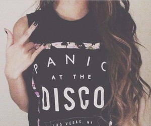 fashion, panic! at the disco, and shirt image