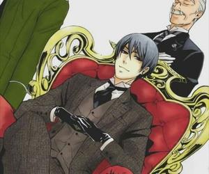 vincent phantomhive, black butler, and kuroshitsuji image