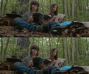 chandler riggs, katelyn nacon, and carnid image