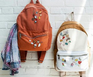 backpack, bag, and school image