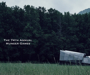 forest, hunger games, and ya image