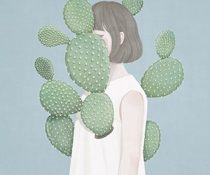 beauty, cactus, and goals image