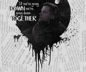 dean winchester, edit, and quote image