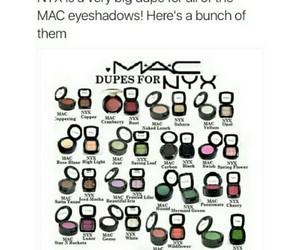 makeup, dupe, and mac image