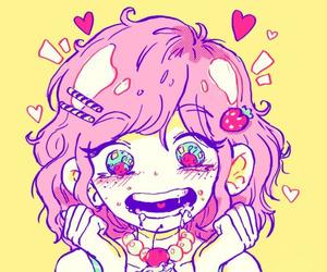 anime girl, manga girl, and kawaii image
