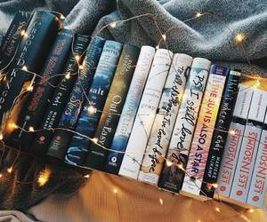 books and lights image