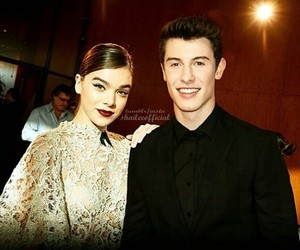 black and white, hailee steinfeld, and shawn mendes image