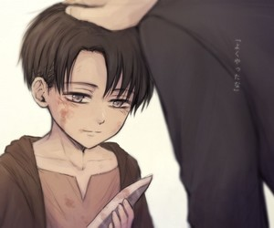 attack on titan, levi ackerman, and shingeki no kyojin image