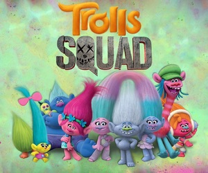 lovely, pretty, and trolls image