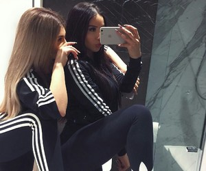 adidas, friends, and best friends image