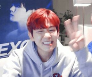 exo, baekhyun, and cute image