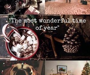 christmas, Collage, and easel image